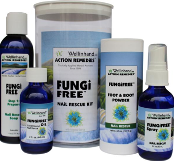 Image of FungiFree Kit for Nails Steps 1-4