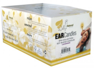 Image of Ear Candles Soy Blend Lavender