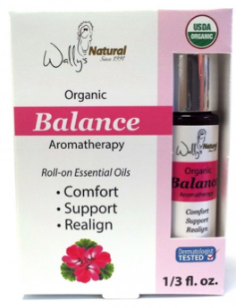 Image of Organic Essential Oil Blend Roll-On Balance