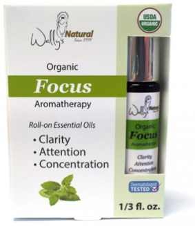 Image of Organic Essential Oil Blend Roll-On Focus