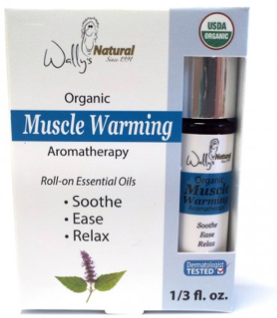 Image of Organic Essential Oil Blend Roll-On Warming