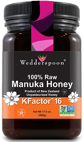 Image of 100% Raw Manuka Honey KFactor 16