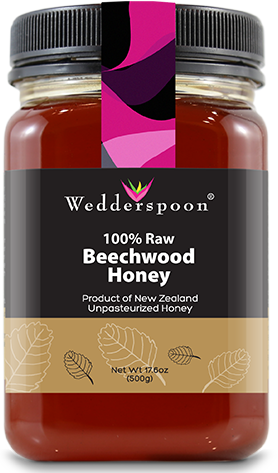 Image of 100% Raw Honey Beechwood