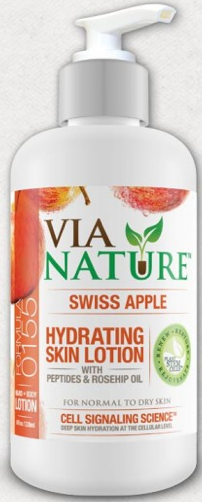 Image of Lotion Hydrating Skin Swiss Apple (normal to dry skin)