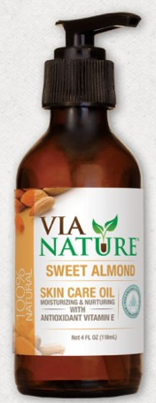Image of Skin Care Oil Sweet Almond