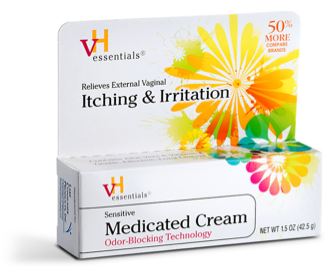 Image of Sensitive Medicated Cream (Vaginal Itching)