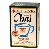 Image of Organic Chai Green Tea with Lemon Tea