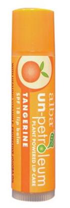 Image of Alba Un-Petroleum Lip Balm SPF 18 Tangerine