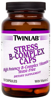 Image of Stress B-Complex Caps with Vitamin C