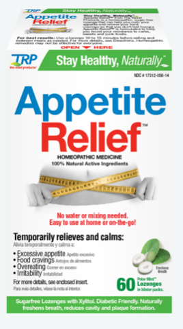 Image of Appetite Relief Homeopathic Sublingual