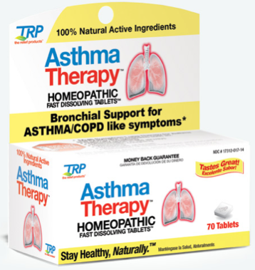 Image of Asthma Therapy Homeopathic Sublingual