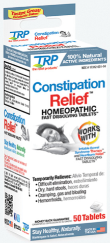 Image of Constipation Relief Homeopathic Sublingual