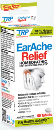 Image of Earache Relief Homeopathic Sublingual