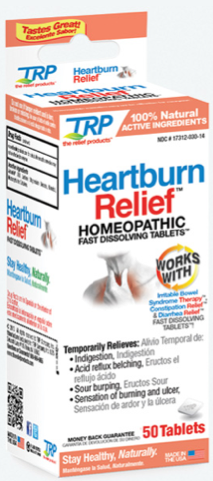 Image of Heartburn Relief Homeopathic Sublingual