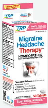 Image of Migraine Headache Therapy Homeopathic Sublingual