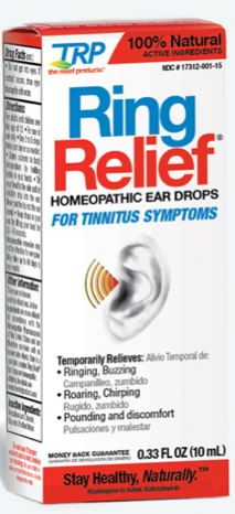 Image of Ring Relief Homeopathic Ear Drops