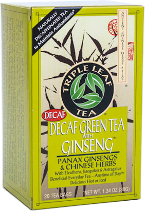 Image of Decaf Green Tea with Ginseng