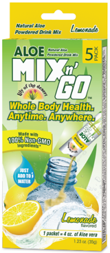 Image of Aloe Mix n Go Packet Lemonade
