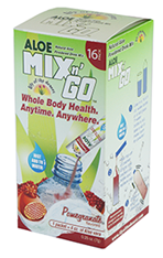 Image of Aloe Mix n Go Packets Pomegranate