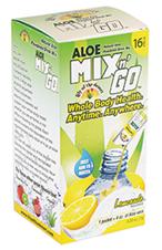 Image of Aloe Mix n Go Packets Lemonade