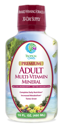 Image of Adult Multi-Vitamin Mineral Liquid