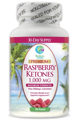 Image of Raspberry Ketones 1,000 mg Capsule