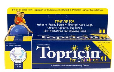 Image of Topricin for Children (Pain Relief & Healing Cream)