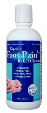 Image of Topricin Foot Therapy Cream (Pain Relief Cream)