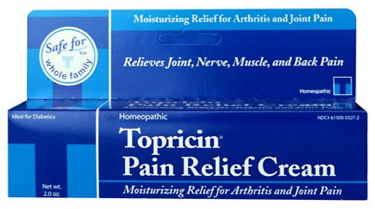 Image of Topricin Pain Relief Cream Tube