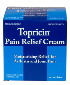 Image of Topricin Pain Relief Cream Jar