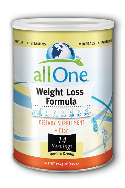 Image of All One Weight Loss Formula Powder Vanilla Cream