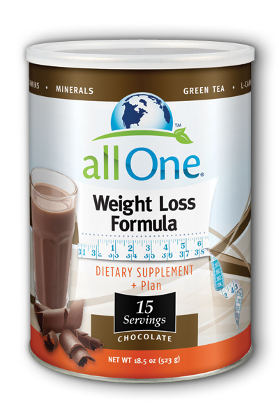 Image of All One Weight Loss Formula Powder Chocolate
