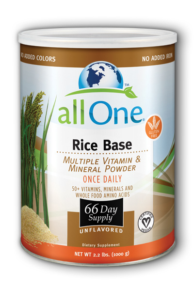 Image of All One Rice Base Multiple Vitamin & Mineral Powder