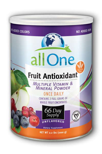 Image of All One Fruit Antioxidant Multiple Vitamin & Mineral Powder