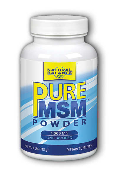 Image of Pure MSM Powder 1,000 mg