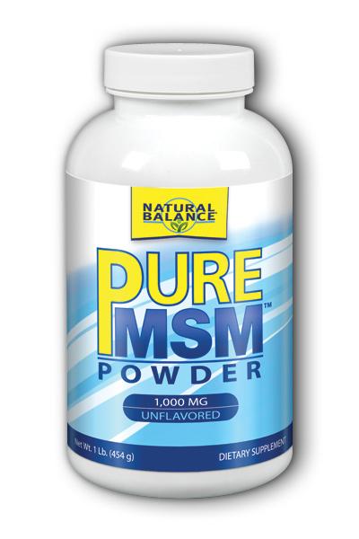 Image of Pure MSM Powder 1,000 mg