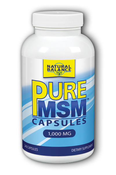 Image of Pure MSM Capsules 1,000 mg