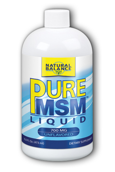 Image of Pure MSM Liquid 700 mg