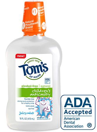 Image of Children's AntiCavity Fluoride Rinse Juicy Mint