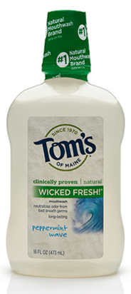 Image of Mouthwash Wicked Fresh! Fresh Peppermint Wave