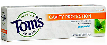 Image of Toothpaste Cavity Protection (Fluoride) Spearmint