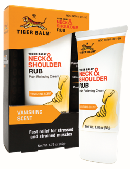 Image of Tiger Balm Neck & Shoulder Rub