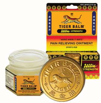 Image of Tiger Balm Ultra Strength White