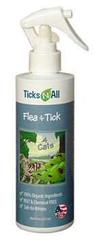 Image of Flea & Tick 4 Cats Spray