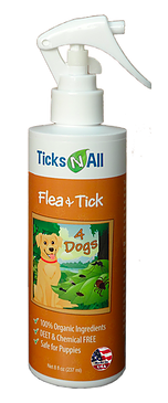 Image of Flea & Tick 4 Dogs Spray