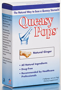 Image of Queasy Pops Ginger