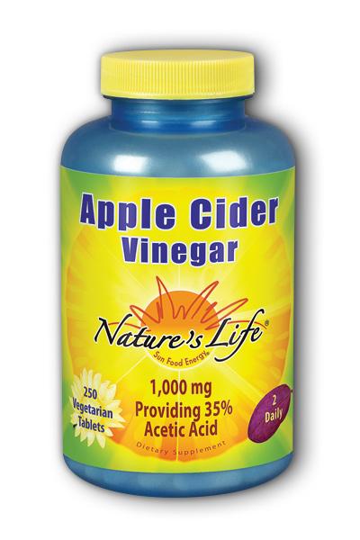 Image of Apple Cider Vinegar 1,000 mg (500 mg each Tablet)