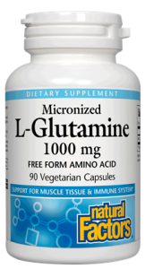 Image of L-Glutamine 1000 mg Micronized Capsule