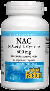 Image of NAC 600 mg (N-Acetyl-L-Cysteine)