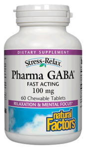 Image of Stress Relax Pharma GABA 100 mg Chewable